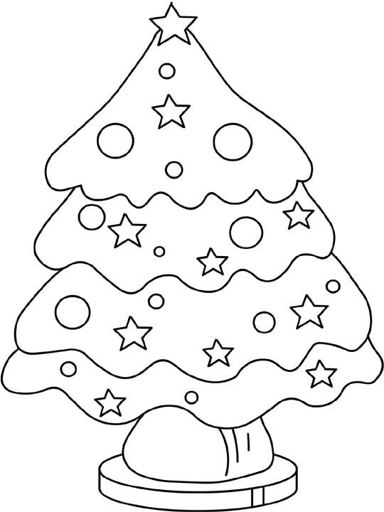 Christmas Coloring Pages 7