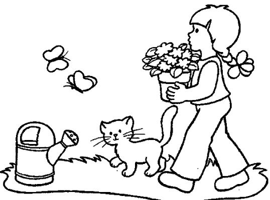 kids coloring pages - Children Coloring Pictures