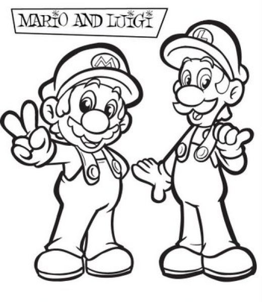 Super Mario Books Coloring 1