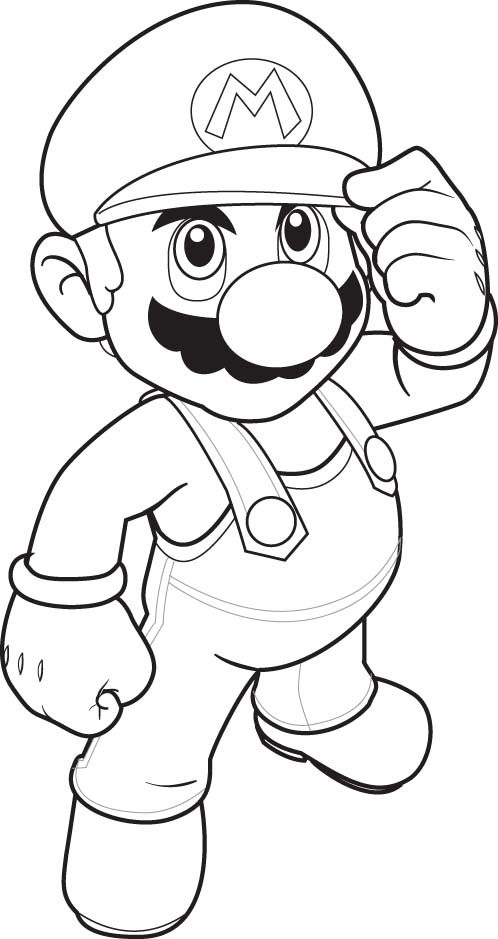 Super Mario Books Coloring 3