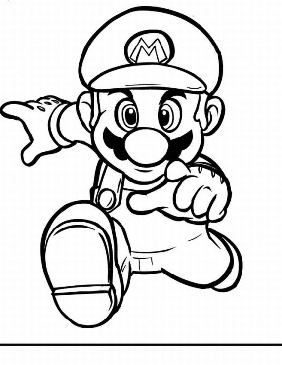 Super Mario Books Coloring 5