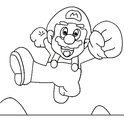Super Mario Books Coloring 7